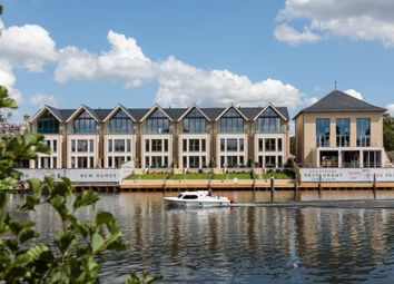 Thumbnail 4 bedroom town house for sale in Taplow Riverside, Taplow
