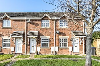 Thumbnail 2 bed terraced house for sale in The Beeches, Warminster
