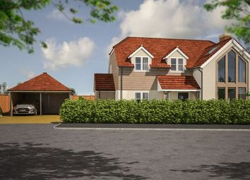 Thumbnail 4 bed detached house for sale in The Timbers, Fareham