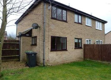 Thumbnail 1 bed semi-detached house to rent in Somerville, Werrington, Peterborough