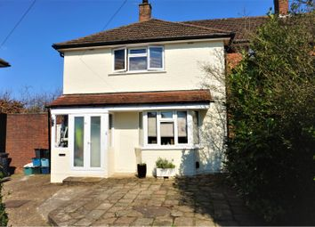 Thumbnail 2 bed end terrace house for sale in Walsh Crescent, Croydon
