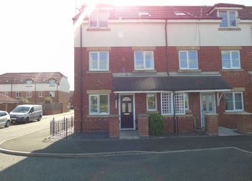 Thumbnail 4 bed terraced house for sale in Beadnell Grove, Ashington