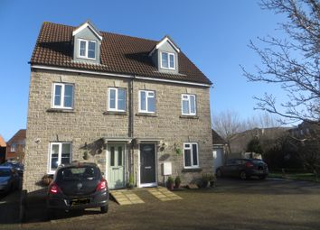 Thumbnail 4 bed semi-detached house for sale in Worle Moor Road, Weston Village