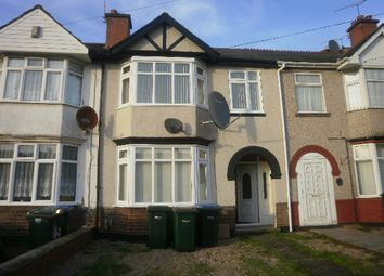 Thumbnail 3 bed terraced house to rent in Longfellow Road, Coventry