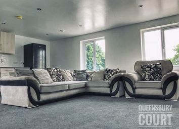 Thumbnail 3 bed flat to rent in Queensbury Court, Queensbury, Bradford