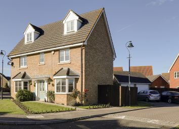 Thumbnail 5 bedroom detached house for sale in Stangate Drive, Iwade, Sittingbourne