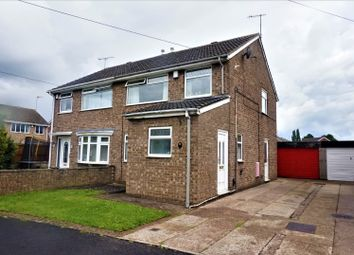 Thumbnail 3 bed semi-detached house for sale in Kendal Way, Hull