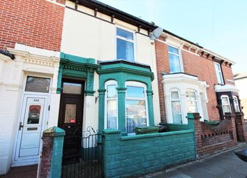 Thumbnail 3 bed terraced house to rent in Shearer Road, Portsmouth