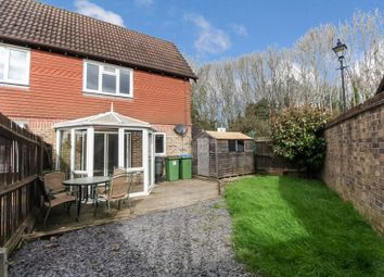 Thumbnail 1 bed end terrace house for sale in Haybarn Drive, Horsham