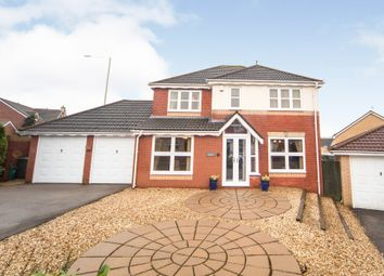 Thumbnail 4 bed detached house for sale in Oaklands, Miskin, Pontyclun
