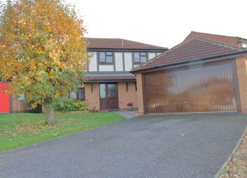 4 bed detached house for sale in Pine Close, Lutterworth LE17