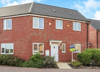 Thumbnail 3 bed semi-detached house for sale in Pandora Drive, Cardea, Peterborough