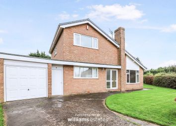 Thumbnail 3 bed detached house for sale in Llys Catrin, Denbigh