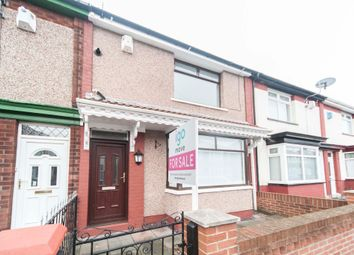 3 bed terraced house for sale in Peebles Avenue, Hartlepool TS25
