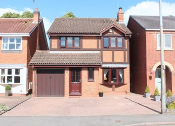 Thumbnail 4 bed detached house for sale in Cross Street, Wall Heath, Kingswinford