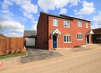 Thumbnail 3 bed semi-detached house to rent in Roberts Way, Sutton Farm, Shrewsbury