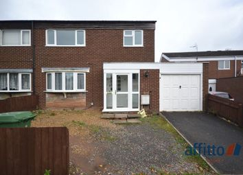 Thumbnail 3 bed semi-detached house to rent in Church Way, Stirchley, Telford