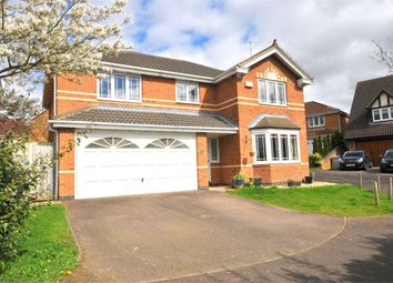 Thumbnail 4 bedroom detached house for sale in Wells Close, Kettering, Northants