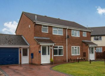 Thumbnail 3 bed semi-detached house for sale in Meredith Gardens, Totton, Southampton