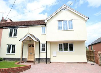 Thumbnail 4 bedroom semi-detached house for sale in Ship Lane, Bramford, Ipswich, Suffolk