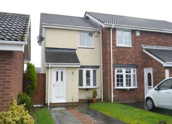 Thumbnail 1 bed end terrace house for sale in Dalton Court, Wallsend