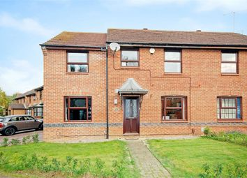 Thumbnail 4 bed semi-detached house for sale in Rushy End, East Hunsbury, Northampton