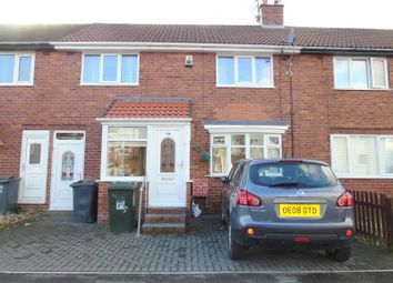 Thumbnail 3 bed terraced house for sale in Mitford Gardens, Wallsend