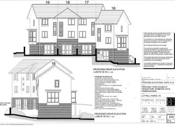 Thumbnail 4 bed terraced house for sale in The Crescent, Pennar Point, Pembroke Dock