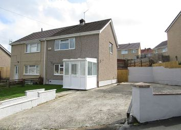 Thumbnail 2 bed semi-detached house for sale in Lon Camlad, Morriston, Swansea, City And County Of Swansea.