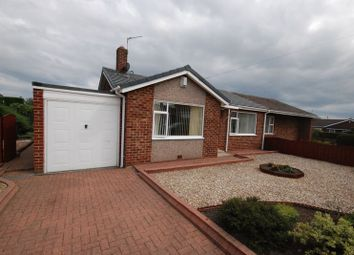 Thumbnail 2 bed semi-detached bungalow for sale in Lesbury Avenue, Choppington