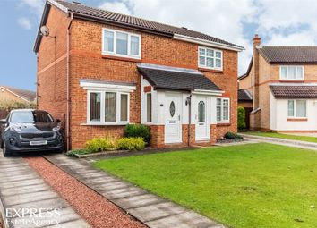 Thumbnail 2 bed semi-detached house for sale in Harebell Meadows, Newton Aycliffe, Durham
