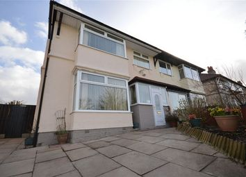 Thumbnail 3 bed semi-detached house for sale in Hesketh Avenue, Bebington, Wirral