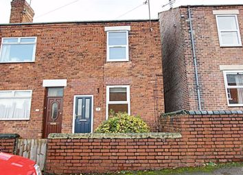 Thumbnail End terrace house to rent in Knighton Street, North Wingfield, Chesterfield, Derbyshire