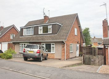 Thumbnail 3 bed semi-detached house to rent in Seaton Road, Wigston
