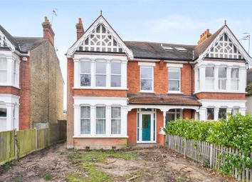 Thumbnail 4 bed semi-detached house for sale in Leigh Road, Cobham, Surrey