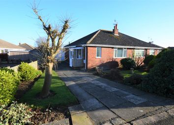 Thumbnail 2 bed semi-detached bungalow for sale in Burnsall Close, Filey