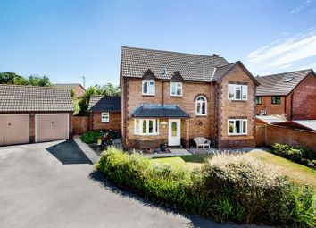 Thumbnail 4 bed detached house for sale in Moorlands, Tiverton