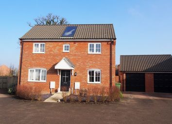Thumbnail 3 bed detached house for sale in Carpenter Close, Wymondham, Norfolk