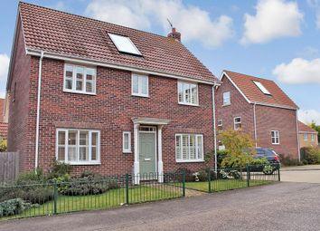 Thumbnail 4 bedroom detached house for sale in Bullfinch Drive, Harleston, Norfolk