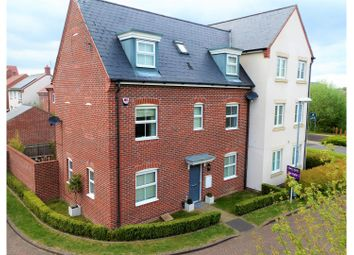 Thumbnail 4 bed semi-detached house for sale in Quail Corner, Bracknell