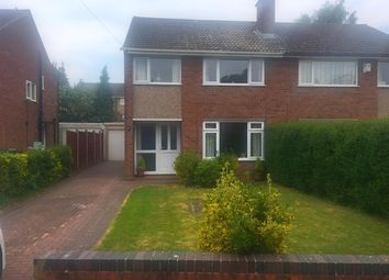 Thumbnail 3 bed semi-detached house for sale in Sidmouth Avenue, Stafford