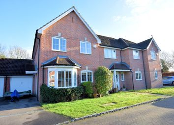 Thumbnail 3 bedroom semi-detached house to rent in Wallace Grove, Three Mile Cross, Reading
