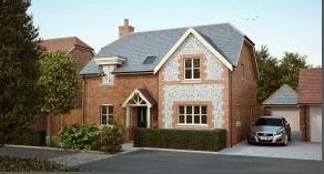 Thumbnail 4 bed detached house for sale in The Shire, Westbourne, Emsworth