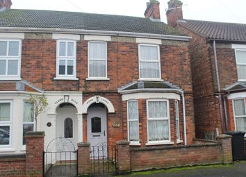 Thumbnail 2 bedroom semi-detached house for sale in Queens Avenue, King's Lynn