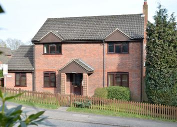 Thumbnail 4 bed detached house for sale in Hampstead Norreys Road, Hermitage, Thatcham