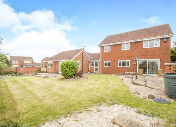 Thumbnail 5 bedroom detached house for sale in Stamford Drive, Groby, Leicester