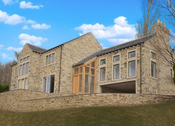Thumbnail 5 bedroom detached house for sale in Broad Lane, Upperthong, Holmfirth