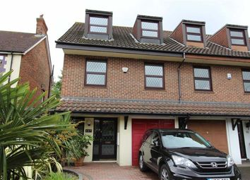 Thumbnail 4 bedroom town house for sale in The Ridgeway, North Chingford, London