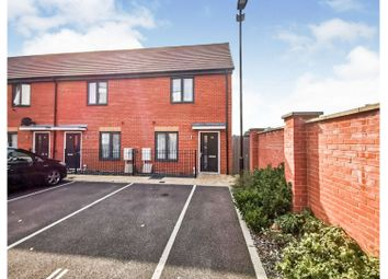 Thumbnail 2 bed end terrace house for sale in Mercator Close, Southampton