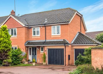 Thumbnail 4 bedroom detached house for sale in Chestnut Avenue, North Walsham